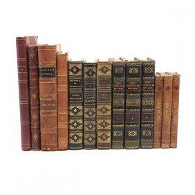 Thirteen European Literature Volumes, Mostly French