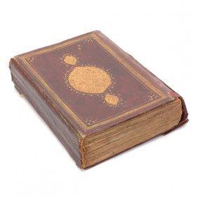 Leather Bound Handwritten Annotated Illuminated Koran