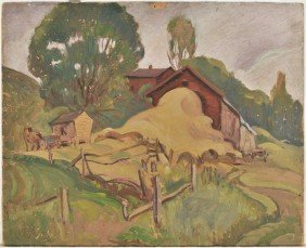 Arthur Tilgner (American, Ohio 20th Century) Landsca