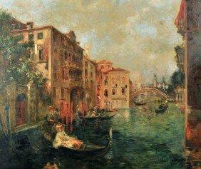Attrib. A. Rodetti (Italian, 19th Century) Venetian
