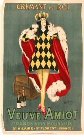 A Cremant Du Roi By Leonetto Cappiello Advertiseme