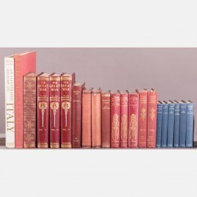 A Collection Of Twenty-one Decoratively Bound Books,