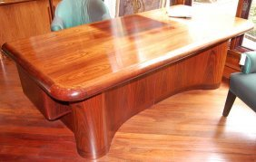 Handsome Rosewood Executive Desk