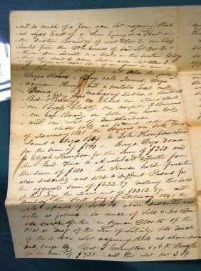 1841 JUDGEMENT CONCERNING SLAVES AND PROPERTY