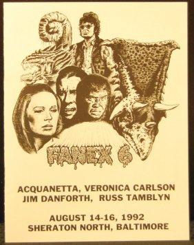 Fanex 6 Book Autographed