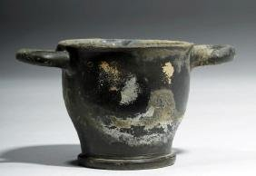 Greek South Italic Blackware Drinking Cup