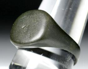 Ancient Roman Bronze Finger Ring
