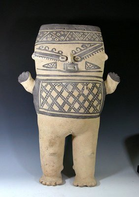 Large Pre Columbian Chancay Pottery Cuchimilco