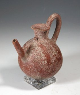 A Cypriot Red-Polished Ware Vessel