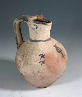 A Cypriot White Slip Ware Jug