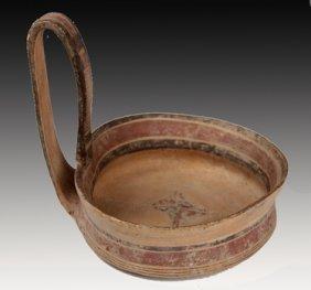 A Daunian Pottery Kyathos,  Canosa