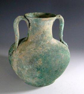 A Large Roman Bronze Amphora