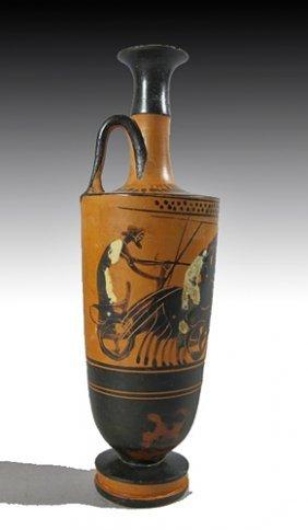 An Attic Black-Figure Lekythos - Haimon Group