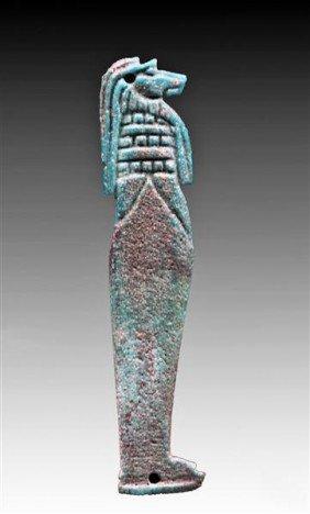 An Egyptian Bi-Color Horus Son, Hapy