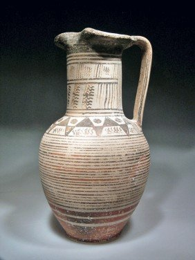 An Early Western Greek Oinochoe - Ca. 720 BC