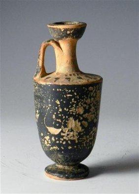 A Greek Attic Black-Ware Lekythos