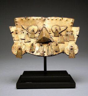 A Sican  /  Lambayeque Gold Mask