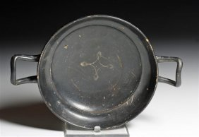 A Greek South Italic Blackware Kylix