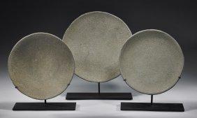 Set Of 3 Chavin Stone Dishes