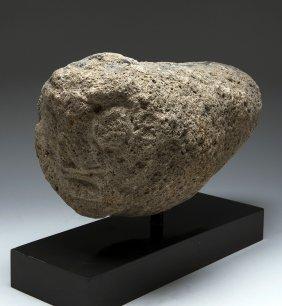 Published Archaic Chavin Stone Tenon