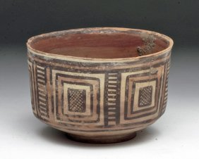 Indus Valley Bowl - Geometic Designs