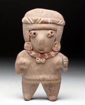 Chupicuaro Polychrome Female Flat Figure