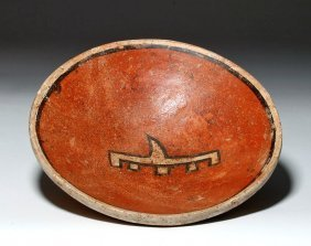 Panamanian Cocle Polychrome Bowl - Abstract Design