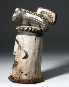 Nigeria Idoma Wood Animal Mask