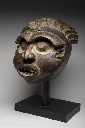 African Wood Enforcer Mask, Cameroon Grasslands