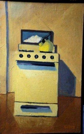 Foley, Oil On Canvas