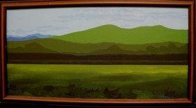 S. O'Brien Oil On Canvas