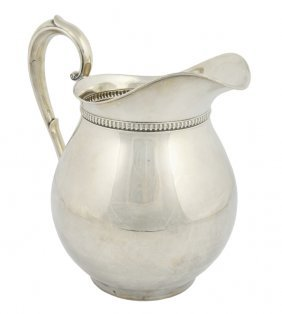 A WALLACE STERLING SILVER PITCHER American, 20th Cen