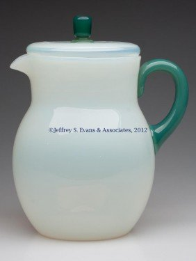 FRY ART GLASS #11 JUG AND COVER