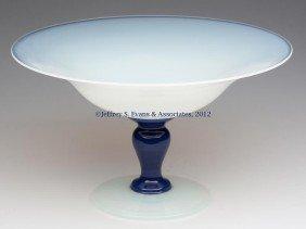 FRY ART GLASS COMPORT