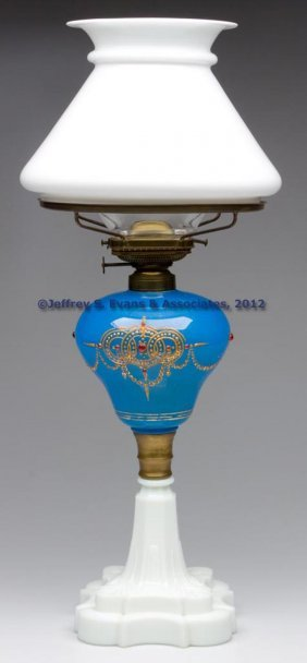 DECORATED STAND LAMP