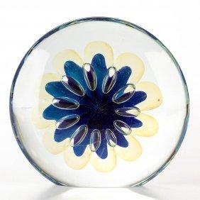 Eickholt Studio Art Glass Paperweight