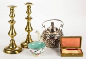 Assorted Decorative And Other Articles, Lot Of Five