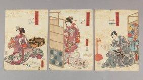 Toyokuni Iii / Kunisada Utagawa Ukiyo-e Woodblock