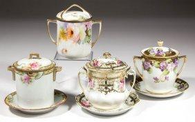 Japanese Nippon Porcelain Condensed Milk Sets And Jam