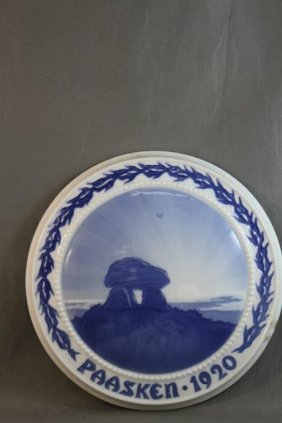 Bing And Grondahl Porcelain Easter Plaque,