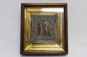 Early Nineteenth Century Russian Icon,