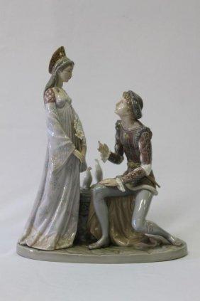 Lladro Figure Group, 'idyll In Verona',