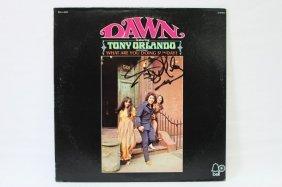 Signed Lp, Dawn, Featuring Tony Orlando,