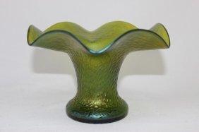 Art Nouveau Glass Vase,