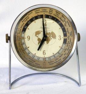 Vintage Rhythm World Clock,