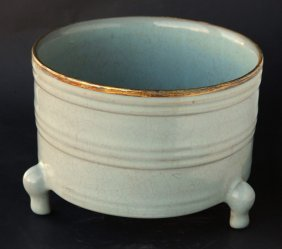 Chinese Tri Fotted Censer,