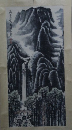 Chinese Hanging Scroll,