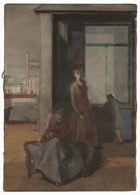 "Joseph Floch (American/Austrian, 1894-1977) ""Penthouse"