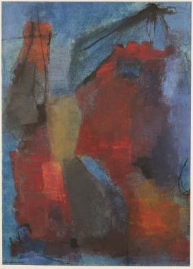 "Giuseppe Santomaso (Italian, 1907-1990) ""Sera"