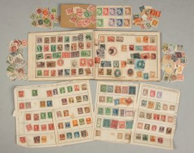 Large Postage Stamp Collection